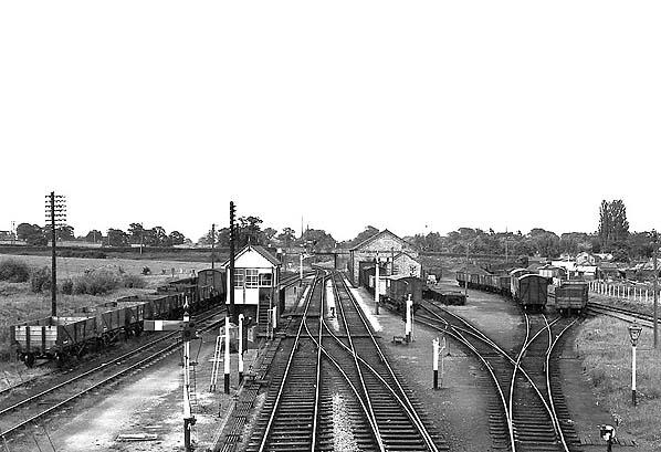 Ellesmere Railway Station Photo Welshampton to Frankton and Overton Lines. 8